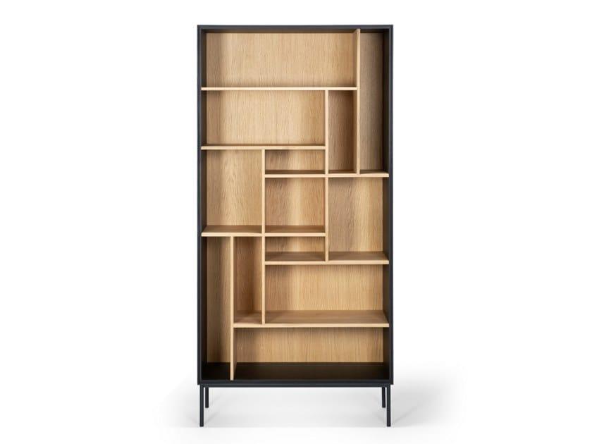 Open oak bookcase OAK BLACKBIRD | Bookcase by Ethnicraft