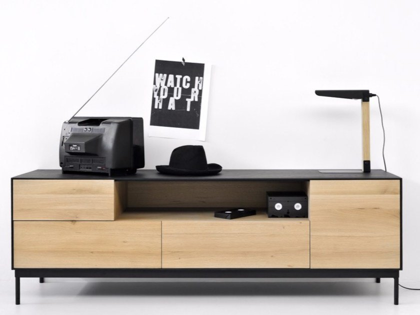 Oak TV Cabinet OAK BLACKBIRD | TV Cabinet By Ethnicraft