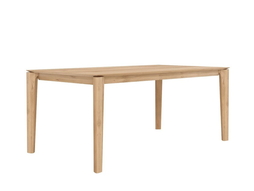 Rectangular oak dining table OAK BOK | Table by Ethnicraft