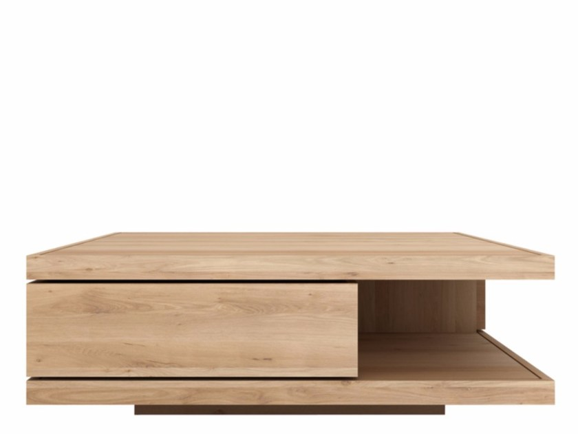 Solid wood coffee table OAK FLAT | Coffee table by Ethnicraft