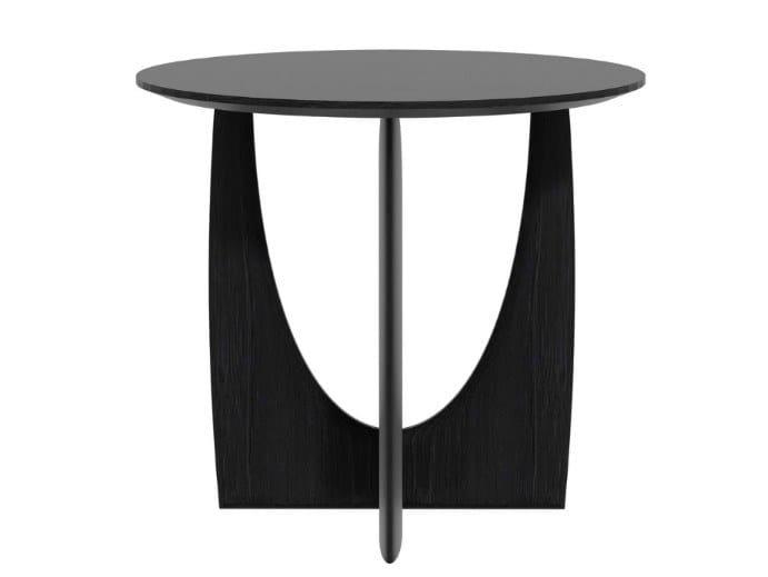 In Tavolino Rotondo Da Ethnicraft Oak Caffè Geometric Rovere N8wOPX0kZn