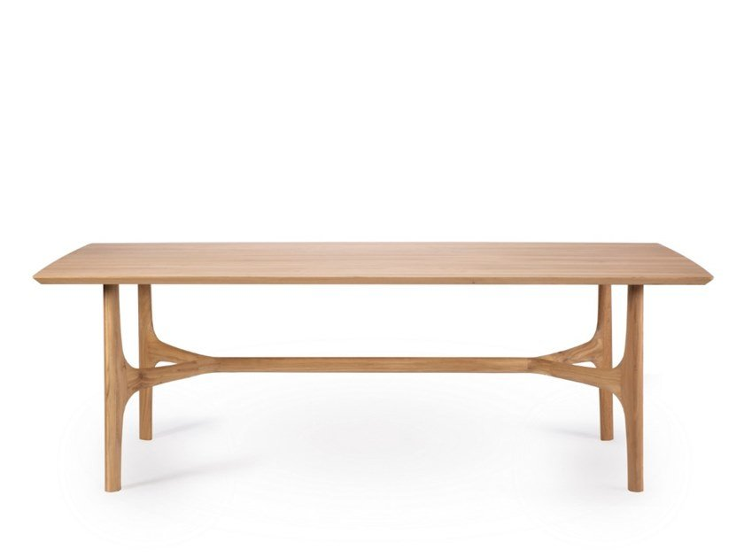 Rectangular oak dining table OAK NEXUS by Ethnicraft