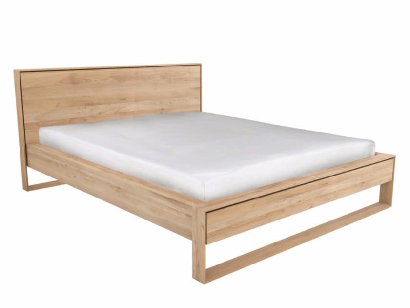 Oak bed double bed OAK NORDIC II | Bed by Ethnicraft