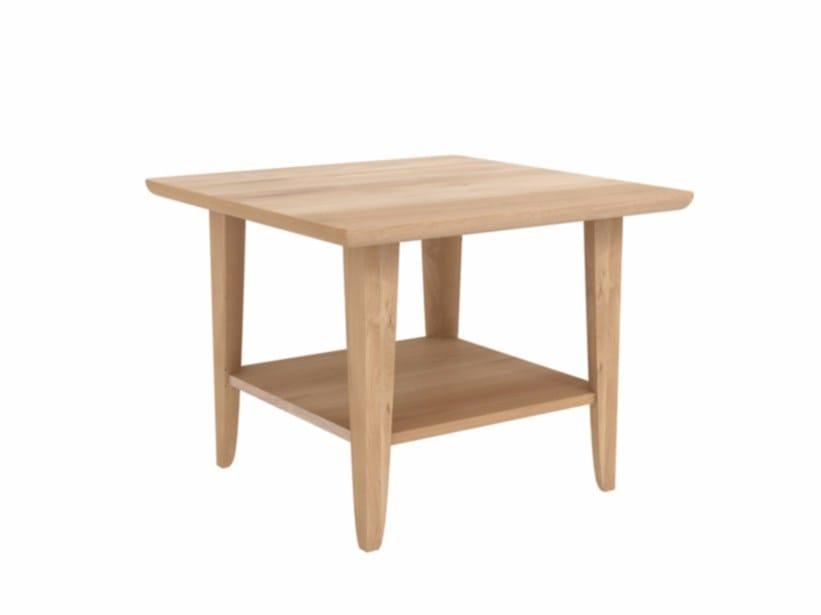 Square oak side table OAK SIMPLE | Side table by Ethnicraft