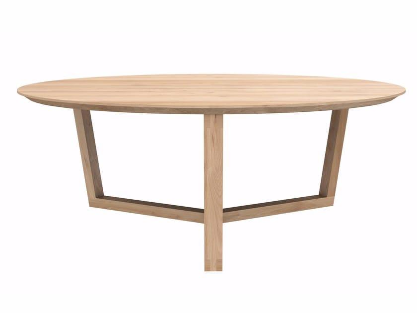 OAK TRIPOD TABLE | Tavolino