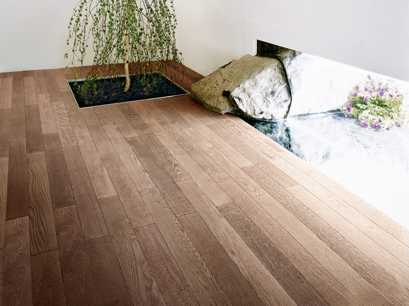 Oak flooring OAK VULCANINO - WHITE OIL by mafi