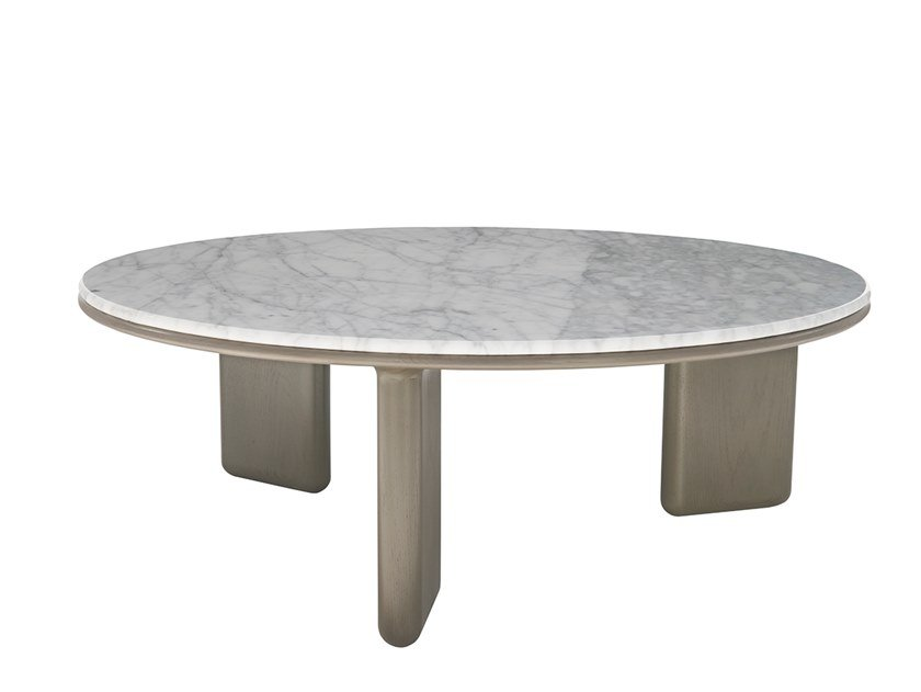 Round marble coffee table OASIS | Coffee table by HC28