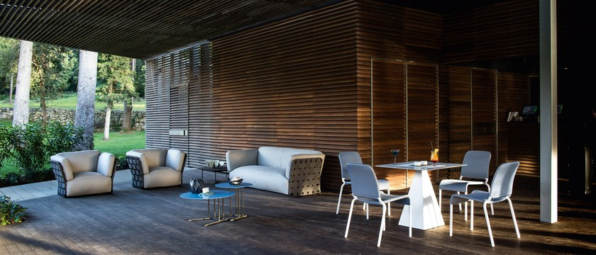 Obi poltrona da giardino by varaschin design toan nguyen for Obi arredamento giardino