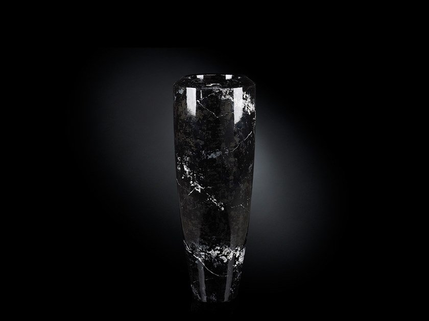 LDPE vase OBICE CARRARA SMALL by VGnewtrend