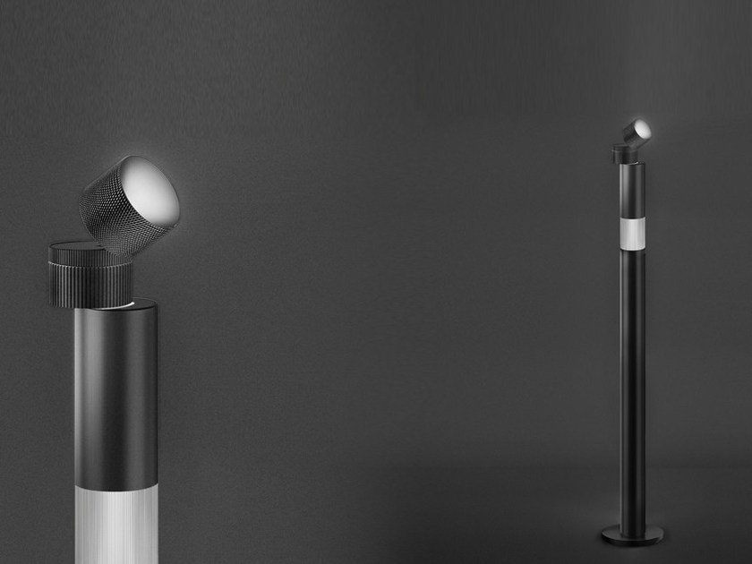 LED direct-indirect light aluminium floor lamp OBJECTIVE | Floor lamp by Artemide