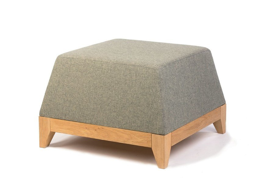 Pouf in tessuto OBLIQUE / OB1 by bogaerts label