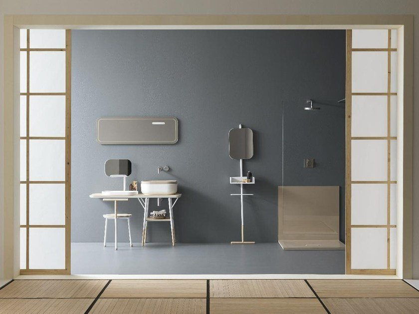 Bathroom furniture set OBLON by NOVELLO