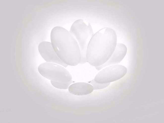 LED direct light ceiling lamp OBOLO 6490 by Milan Iluminacion