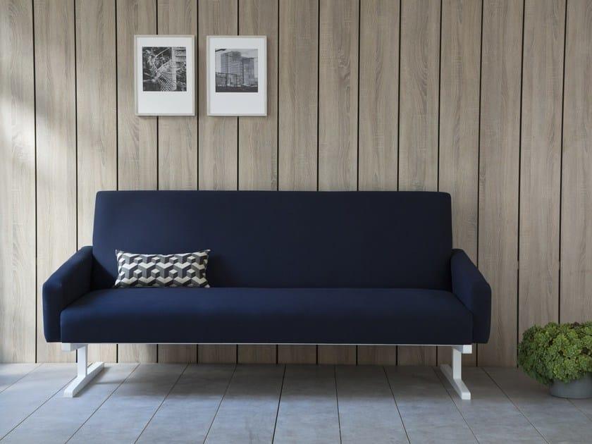 Metallic Feets Sofa OCE BLUE SOFA by Kann Design