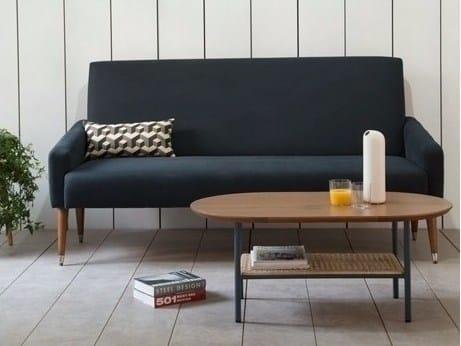 3 seater fabric sofa OCE EBONY SOFA by Kann Design