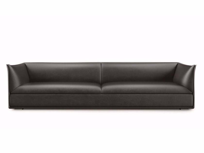Leather sofa OCEAN DRIVE | Leather sofa by Lema