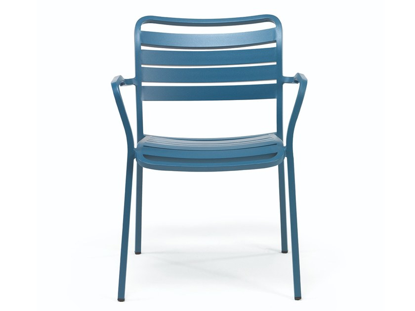 Stackable Aluminium Garden Chair OCEAN | Garden Chair By Ethimo