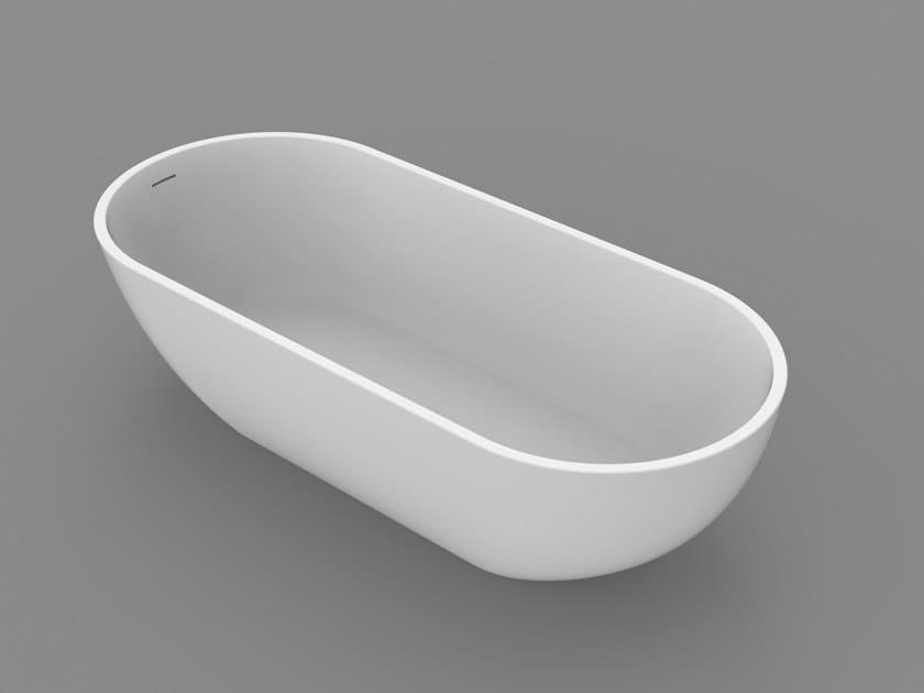 Vasca da bagno ovale ocean tub by dimasi bathroom