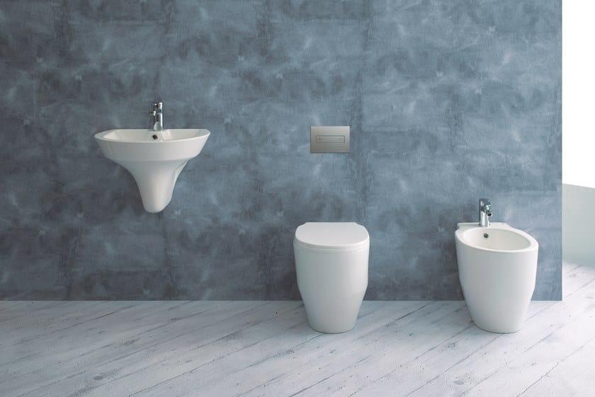 OCEANIA | Placca di comando per wc in acciaio inox