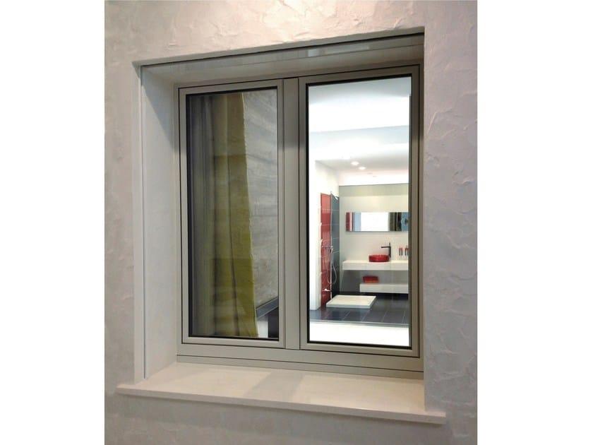 Aluminium and wood casement window OCEANO | Casement window by NAVELLO