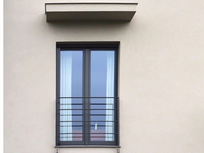 Aluminium and wood patio door OCEANO   Patio door by NAVELLO