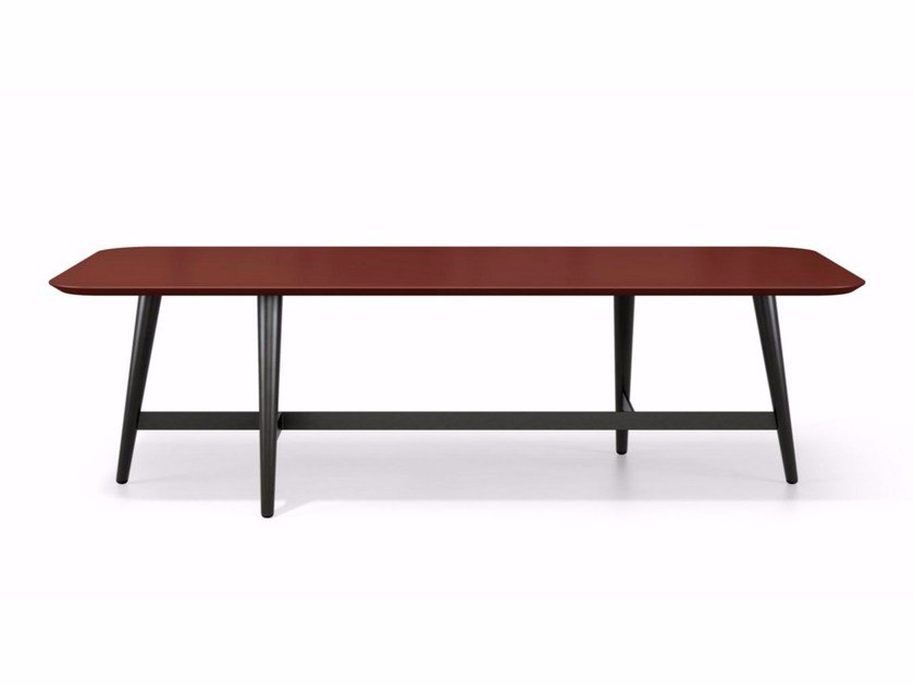 Lacquered coffee table for living room OCTET by ROCHE BOBOIS