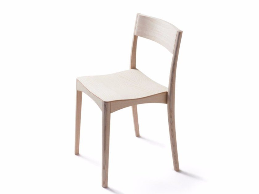 Solid wood chair OCTOBER LIGHT CHAIR by Nikari