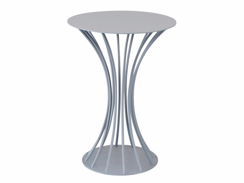 Round steel coffee table OCTOPUSSY by AZEA