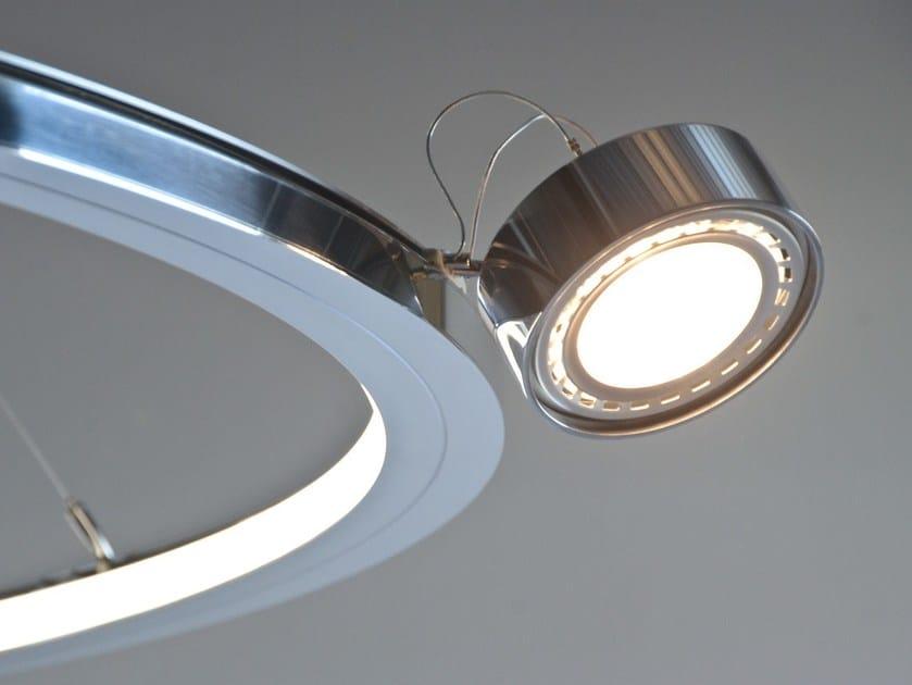 Sospensione Led Alluminio In Sattler Lampada Oculi A EdeWQroCxB
