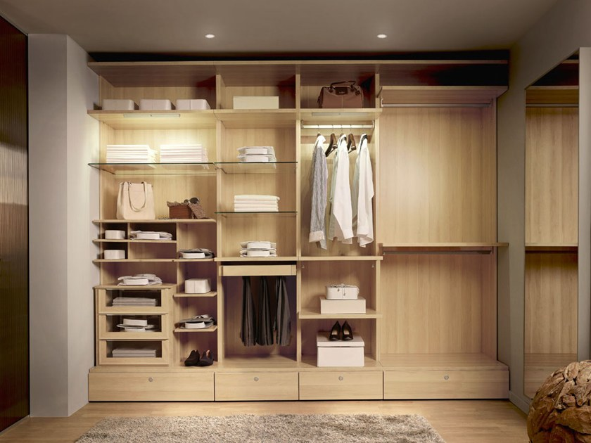 odea walk in wardrobe by gautier france. Black Bedroom Furniture Sets. Home Design Ideas