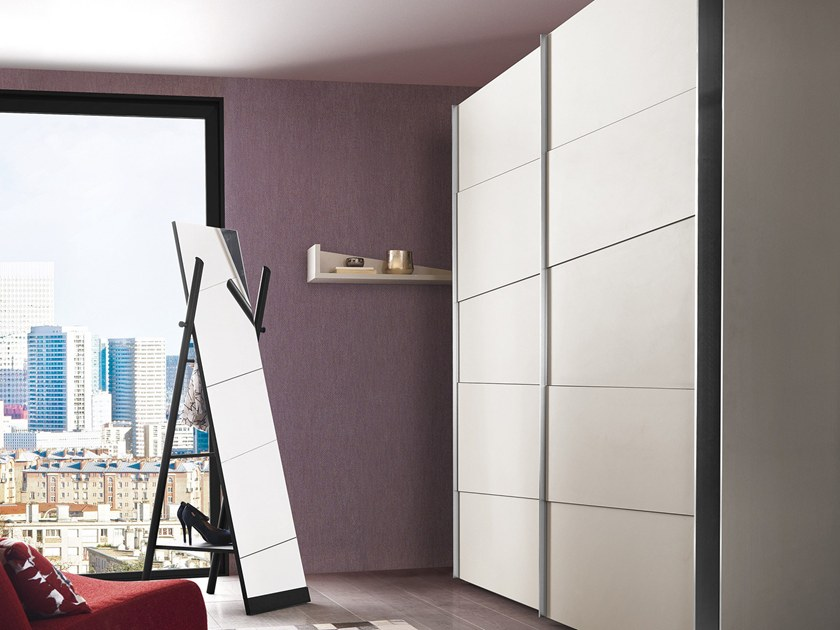 Sectional wardrobe with sliding doors ODEA | Wardrobe with sliding doors by GAUTIER FRANCE & ODEA | Wardrobe with sliding doors By GAUTIER FRANCE