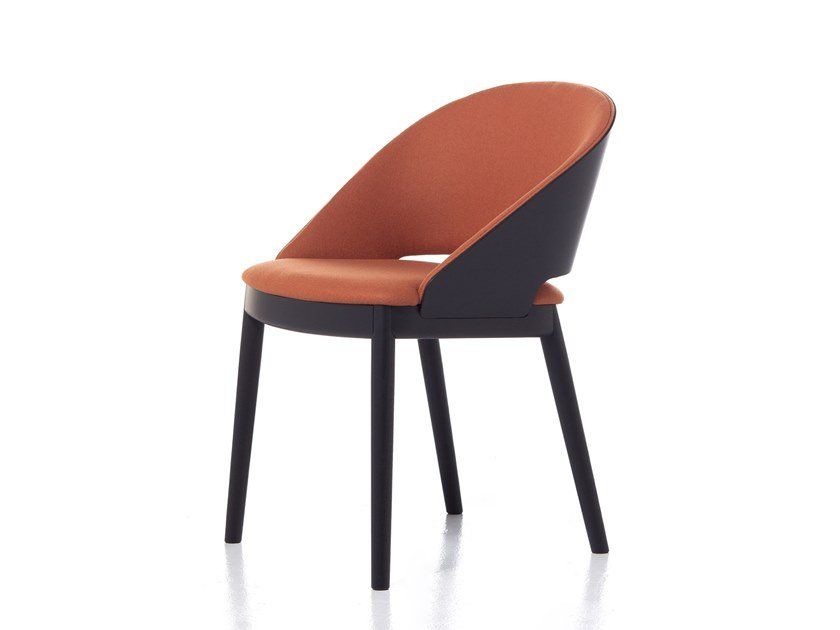 Fabric chair ODEON 01 by Very Wood