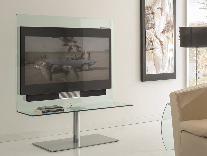 Swivel TV cabinet ODEON by IDEAS Group