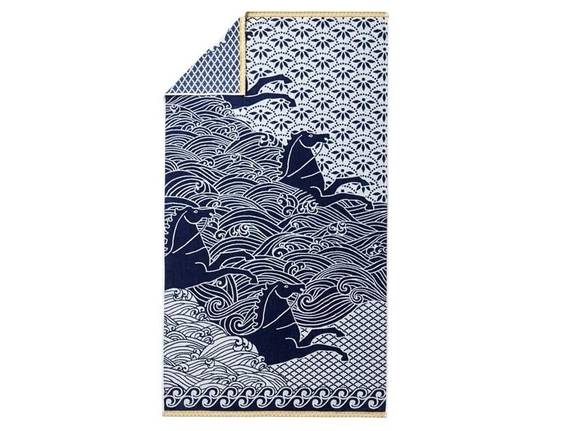 Cotton Beach towel ODYSSÉE by Alexandre Turpault