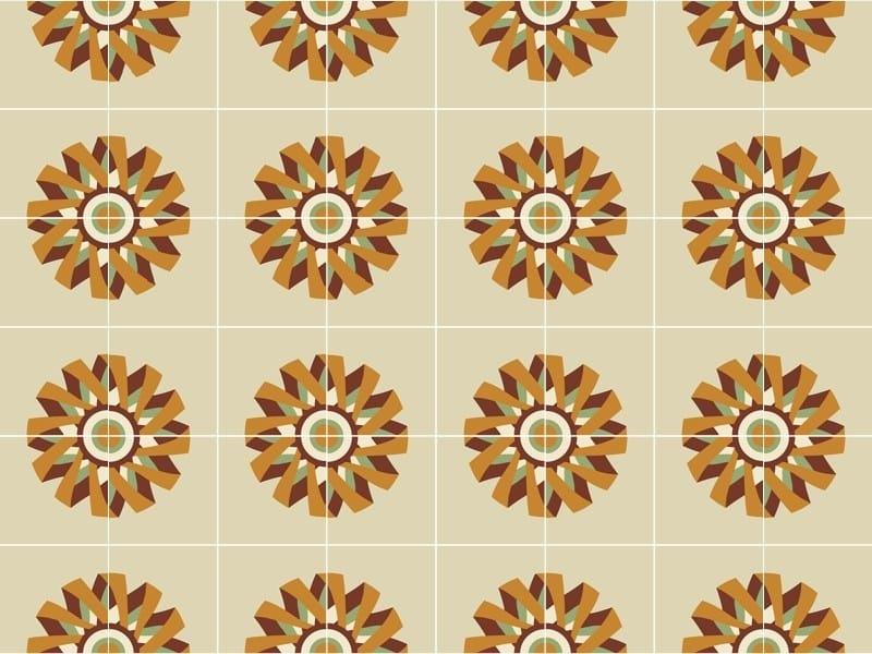 Handmade cement tiles ODYSSEAS 210 by TsourlakisTiles