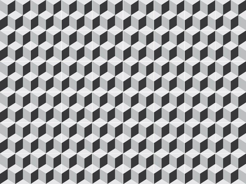 Indoor/outdoor cement wall/floor tiles ODYSSEAS 223 by TsourlakisTiles