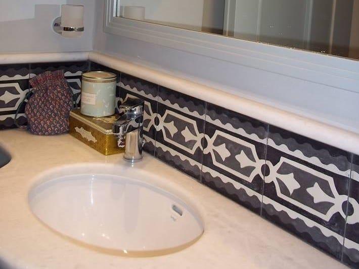 Handmade cement tiles ODYSSEAS 261 by TsourlakisTiles
