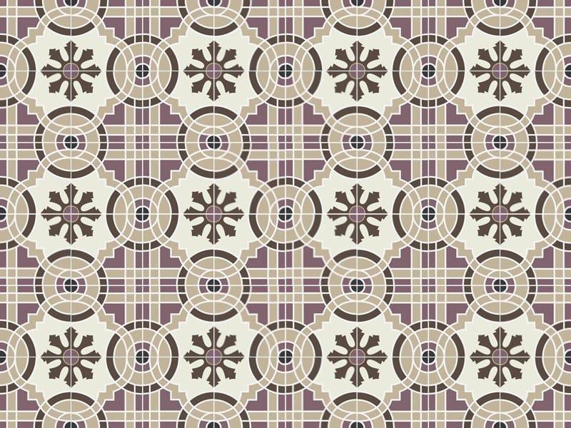 Indoor/outdoor cement wall/floor tiles ODYSSEAS 294 by TsourlakisTiles