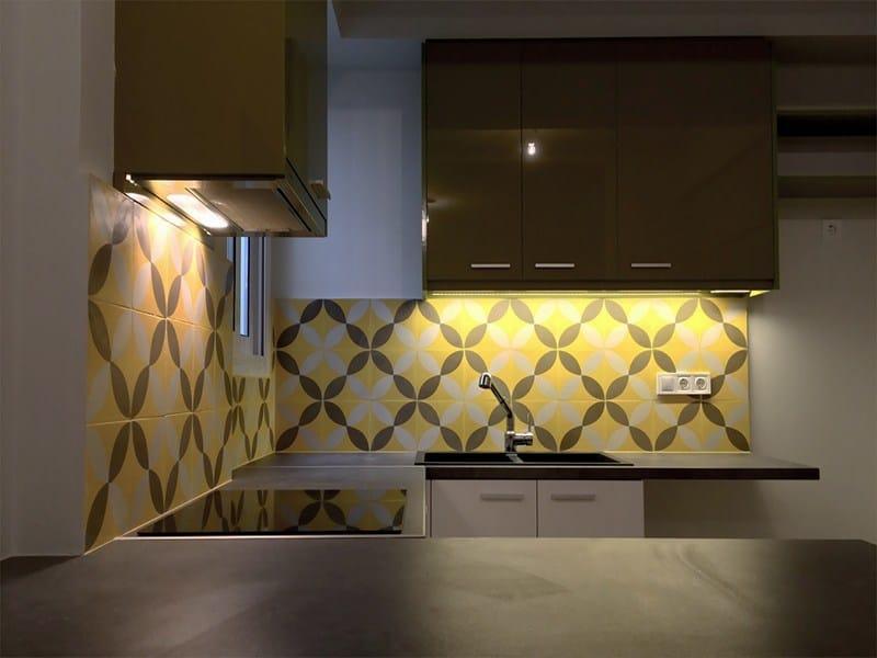 Handmade cement tiles ODYSSEAS 297 by TsourlakisTiles