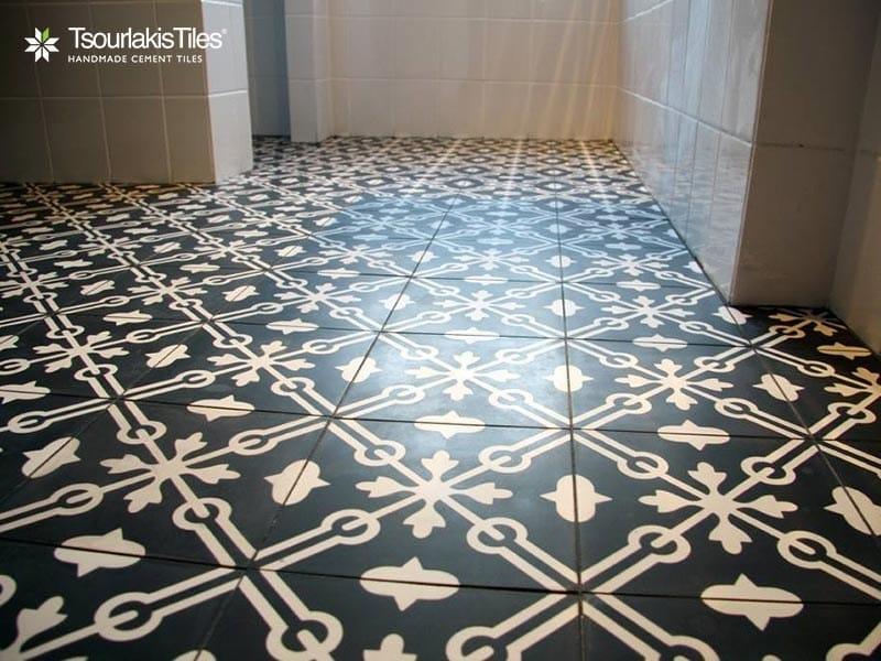 Cement tiles ODYSSEAS 323 by TsourlakisTiles
