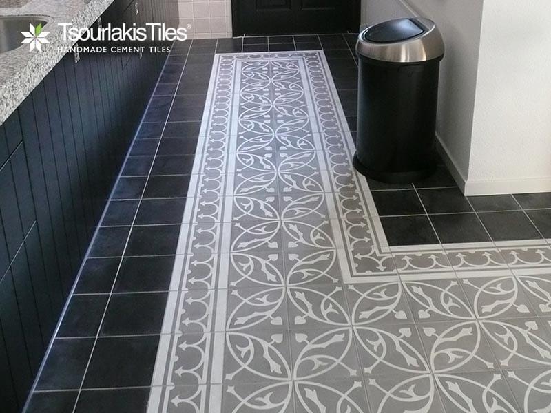 Cement tiles ODYSSEAS 336 by TsourlakisTiles