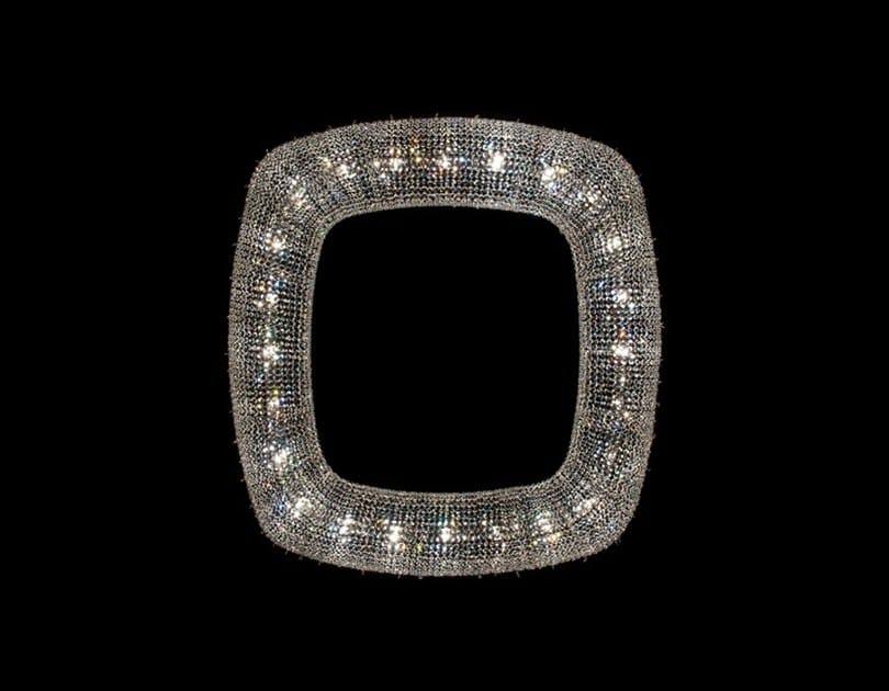 Lampada a sospensione alogena in cristallo OENO | Lampada a sospensione in cristallo by Manooi