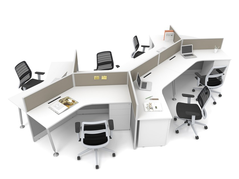 Office Workstation OFFICE ZONE By Finest Office Furniture Supplies