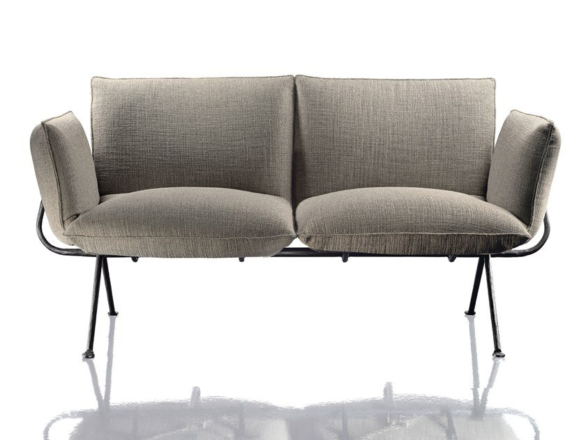 2 seater sofa OFFICINA | 2 seater sofa by Magis