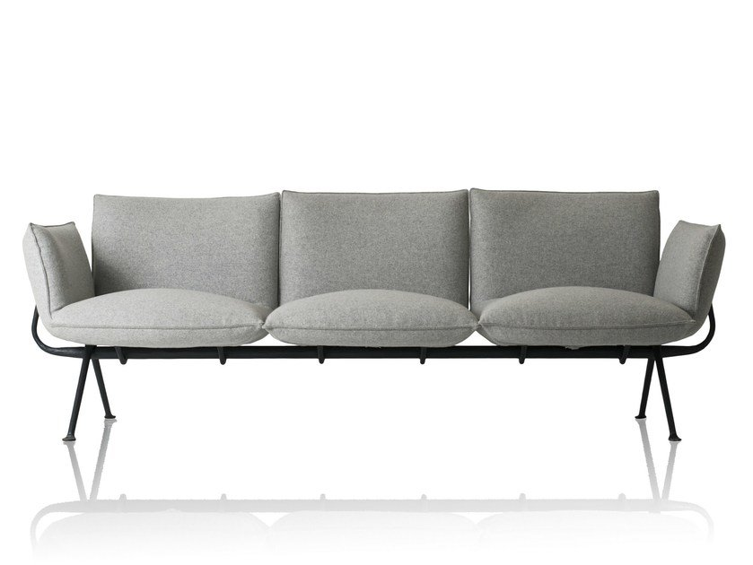 3 seater sofa OFFICINA | 3 seater sofa by Magis