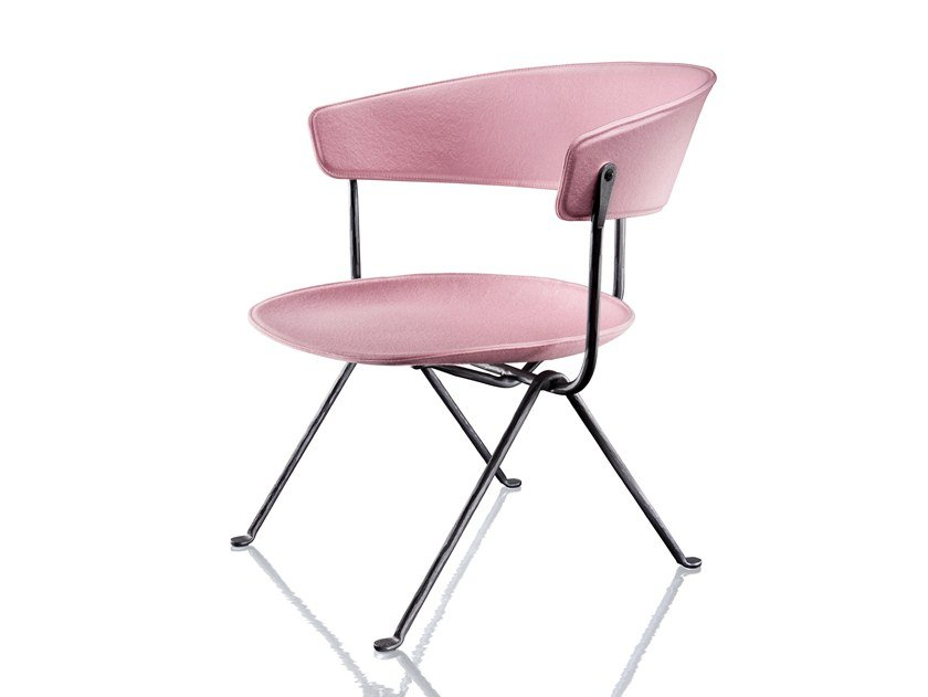 Fabric easy chair OFFICINA | Fabric easy chair by Magis