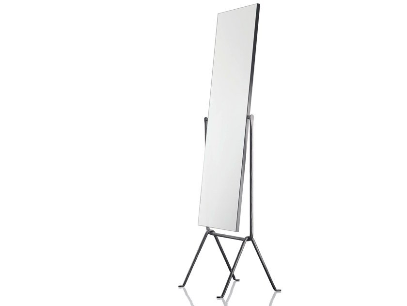 Freestanding rectangular mirror OFFICINA | Mirror by Magis