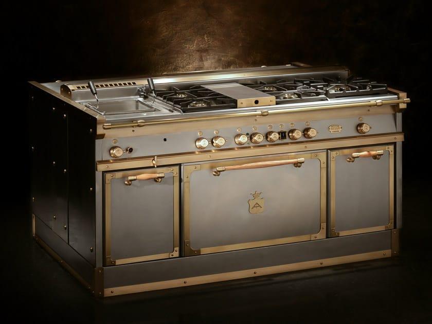 Cucina a libera installazione OG168 | Grigio - Officine Gullo