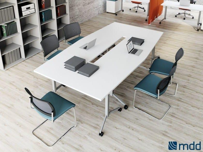 Folding workstation desk OGI | Folding office desk by MDD