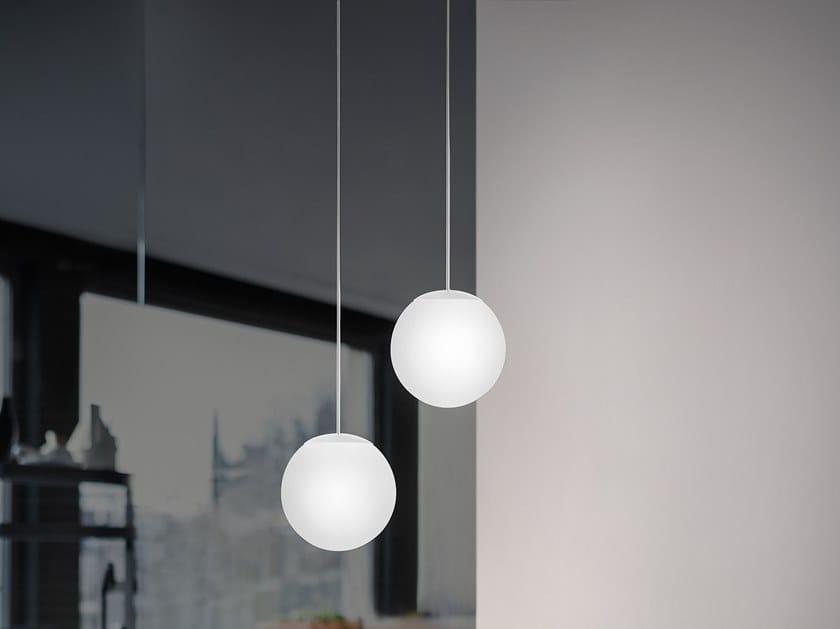 Lampada a sospensione in polietilene OH!_P by Linea Light Group